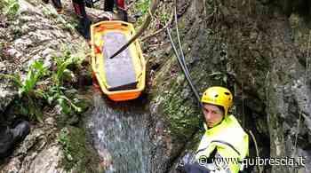Concesio: cade nel torrente mentre taglia una pianta - QuiBrescia.it