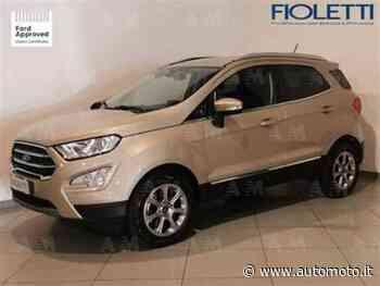 Vendo Ford EcoSport 1.5 TDCi 100 CV Start&Stop Titanium usata a Concesio, Brescia (codice 9134176) - Automoto.it - Automoto.it
