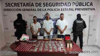 En Atlixco, presuntos distribuidores de droga son detenidos por la Policía Estatal - desdepuebla.com - DesdePuebla