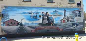 Downtown Port Elgin heritage mural is weeks away from permanent removal - Shoreline Beacon