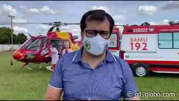 'Estamos ajudando a salvar outras vidas e retribuindo', diz prefeito de Coromandel ao receber paciente com Covid-19 transferido do Sul de Minas - G1