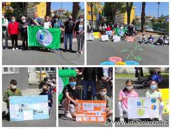 Andora: la scuola Benedetto Croce conquista la Bandiera Verde. Premio per i progetti sul risparmio dell'acqua / Foto - IMPERIAPOST