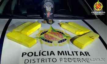 Polícia Militar prende homem que trazia droga de Formosa para vender no DF - Jornal de Brasília