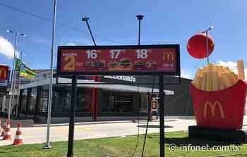 McDonald's inaugura unidade na Praia Formosa, em Aracaju - Infonet