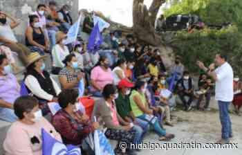 Promete Edmundo Ramírez internet gratuito en plazas públicas de Ixmiquilpan - Quadratín Hidalgo