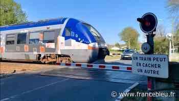 Sainte-Pazanne : choc entre un train et une voiture à hauteur d'un passage à niveau - France Bleu