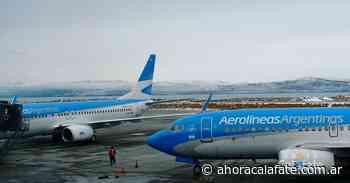 EL CALAFATE. Aerolíneas aseguró un incremento de frecuencias desde julio - FM Dimensión - El Calafate