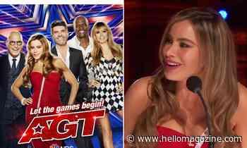 Sofia Vergara stuns fans in magenta pink dress in America's Got Talent promo - HELLO!