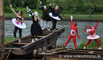 Jugendprojekt Kostümzauber am Elbe-Havel-Kanal in Genthin - Volksstimme
