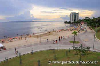 Cheia do rio Negro começa a mudar cenário turístico da praia da Ponta Negra, mesmo revitalizada - Portal Tucumã