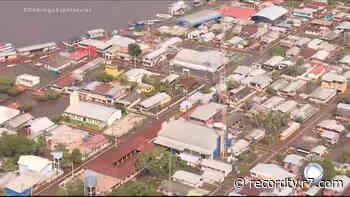 Cheia do Rio Negro atinge marca histórica no Amazonas - Record TV