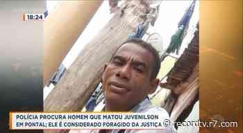 Polícia procura homem que matou Juvenilson em Pontal - Record TV