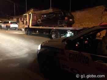 Grupo é detido por suspeita de atirar em duas pessoas em Papagaios - G1