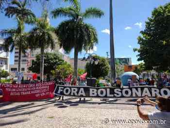 Ato contra Bolsonaro em Juazeiro do Norte é encerrado após tensão com policiais - O POVO