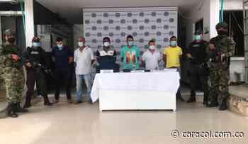 Capturan a presuntos extorsionistas de comerciantes y ganaderos - Caracol Radio