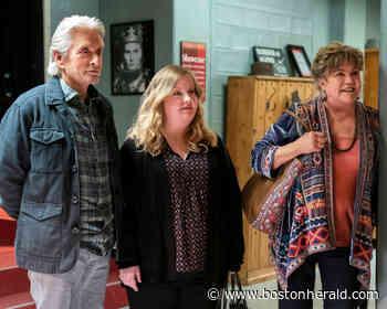 Kathleen Turner, Michael Douglas re-team for final 'Kominsky' season - Boston Herald