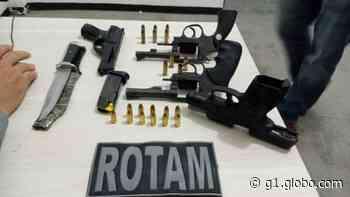 Dois adolescentes são detidos suspeitos de roubarem arma de policial, em Cajazeiras, na PB - G1