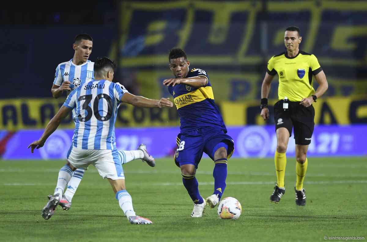 Boca Vs Racing: ante las bajas de Mena y Arias, Juan Antonio Pizzi confirmó a sus reemplazantes - El Intransigente