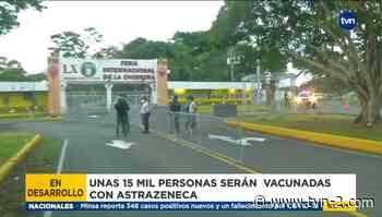 Inicia jornada masiva de vacunación con AstraZeneca en La Chorrera - TVN Noticias