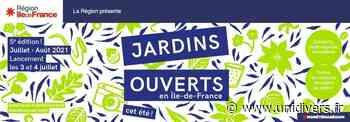 Portes ouvertes Jardin des quatre saisons samedi 3 juillet 2021 - Unidivers
