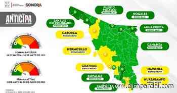 Covid: Hermosillo, Caborca, Guaymas, Navojoa y Huatabampo a amarillo por aumento de contagios - ELIMPARCIAL.COM