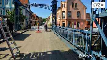 Plau am See: Hubbrücke Plau soll am 1. Juni dem Verkehr übergeben werden | svz.de - svz – Schweriner Volkszeitung