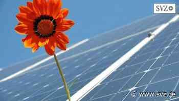 Plau am See: Photovoltaik-Park in Betrieb genommen | svz.de - svz – Schweriner Volkszeitung