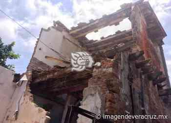 La Huaca, a punto del colapso - Imagen de Veracruz