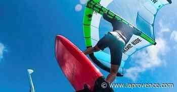 La Ciotat : le wingfoil, nouveau sport de glisse dans le vent ! - La Provence