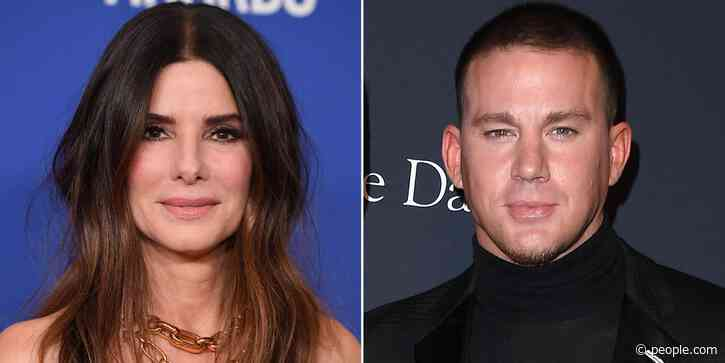 Channing Tatum and Sandra Bullock Strike a Pose on Set of The Lost City of D: 'No Fun at All' - PEOPLE
