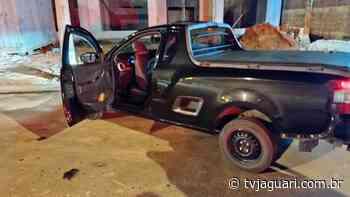 Veículo roubado em Artur Nogueira é recuperado em Cosmópolis - TV Jaguari