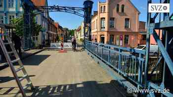 Plau am See: Hubbrücke soll für den Verkehr geöffnet werden | svz.de - svz.de