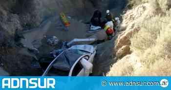 Puerto Madryn: falleció una mujer en un vuelco sobre Ruta 42 - ADN Sur