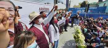 Sin la comunidad no hay transformación: Azucena Cisneros - Noticiario Así Sucede
