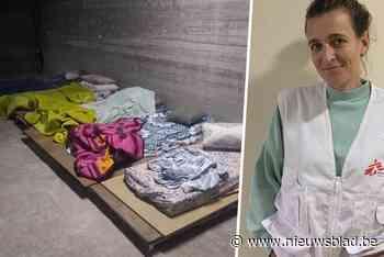 """Vlaamse Hannelore zit al dagen vast in schuilkelder in Gaza: """"Alles davert constant, ik weet niet eens hoe dic - Het Nieuwsblad"""