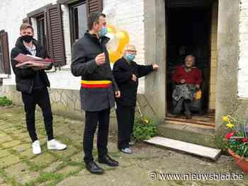 Gemeente viert 110de verjaardag van Bertha - Het Nieuwsblad