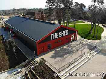 The Shed will put town on the map - Farnham Herald