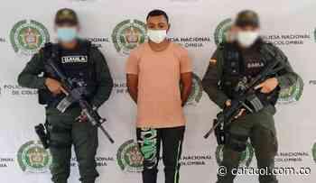 Capturan a alias 'El Mello', presunto extorsionista del Clan del Golfo - Caracol Radio