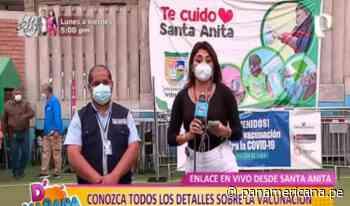 Santa Anita: así se vacunan hoy mayores de 63 y 64 años contra la COVID-19 - Panamericana Televisión