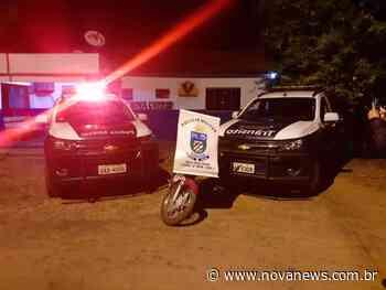 Nova Andradina - Moto que havia sido furtada do Detran é apreendida em - Nova News