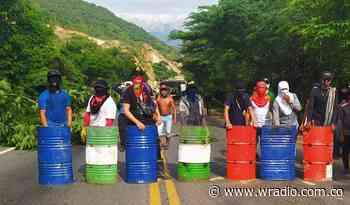 Campesinos mantienen bloqueos en la vía Cúcuta-Ocaña - W Radio