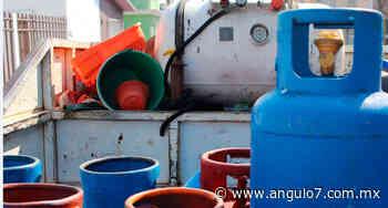 Estación en Ajalpan, con gas LP estacionario más barato del país - Ángulo 7