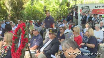 Community observes Memorial Day at Bonaventure Cemetery - fox28media.com