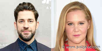 John Krasinski Reacts to the Joke That Amy Schumer Made About His Marriage to Emily Blunt