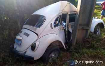 Jovem morre após carro bater contra poste, em Campo Largo; motorista foi preso, diz polícia - G1