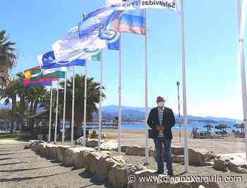 Vélez-Málaga iza un total de siete banderas Ecoplayas en su litoral y suma cuatro certificaciones cardiosaludables - Diario Axarquía