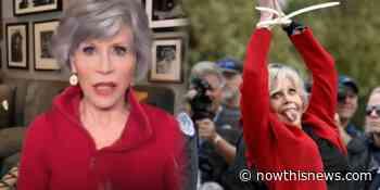 Jane Fonda Talks Fire Drill Fridays on This Segment of Action Planet - NowThis