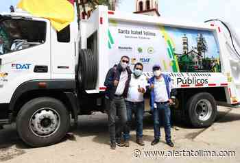 Por fin, nuevo carro compactado compactado de basuras llegó a Santa Isabel - Alerta Tolima