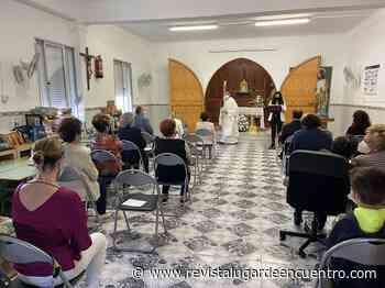 El Peñón celebra un sencillo acto de homenaje al Patrón de la barriada, San José Obrero - Revista Lugar de Encuentro - Revista Lugar Encuentro