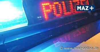 Widerstand in Kremmen: Polizeibeamter leicht verletzt - Märkische Allgemeine Zeitung